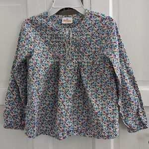 Hanna Andersson Floral Print Blouse